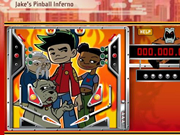 American Dragon Jake`s Pinball Inferno
