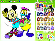Mickey Mouse Disney Coloring