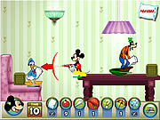 Mickey Mouse Pillow Fight