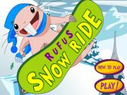 Kim Possible Rufus Snow Ride