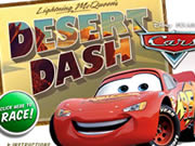 Lighting McQueen`s Desert Dash