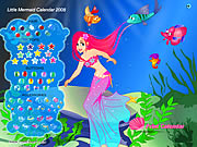 Little Mermaid Calendar