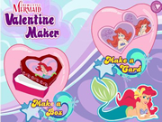 Little Mermaid Valentine Maker
